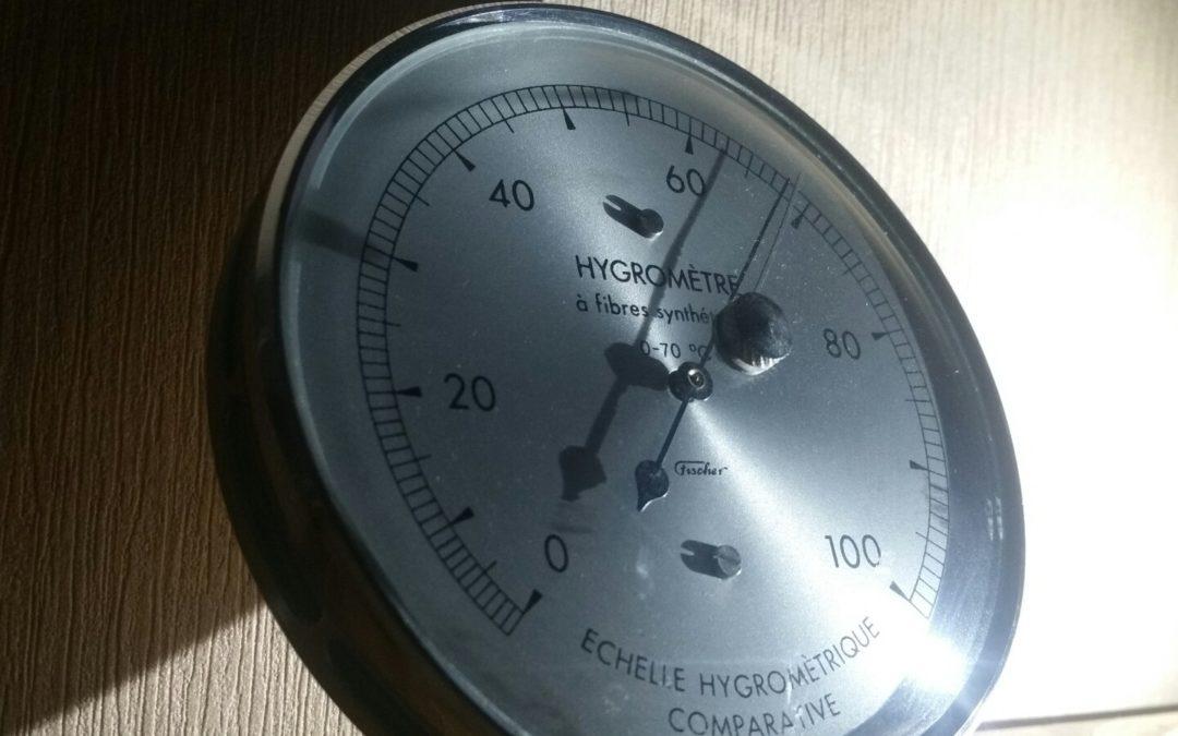 Améliorer la qualité de son air grâce à l'hygromètre.