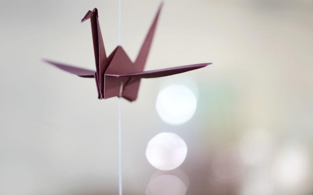 Sac origami :