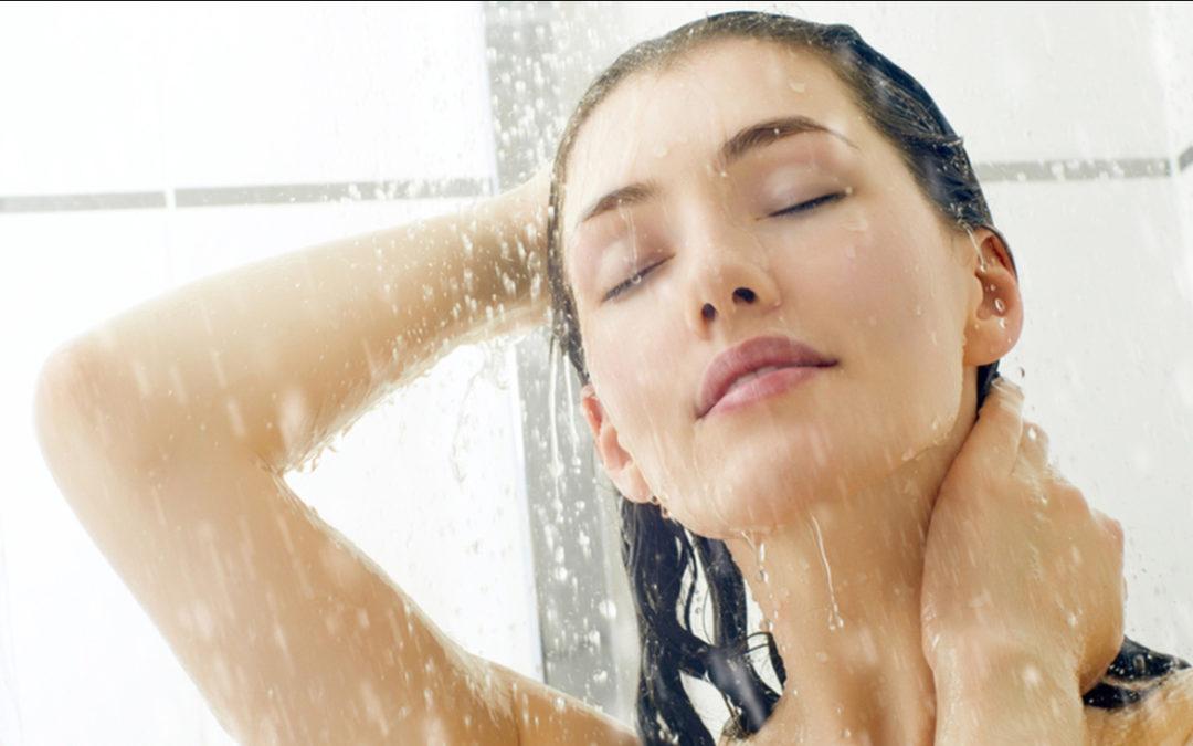aromathérapie sous la douche