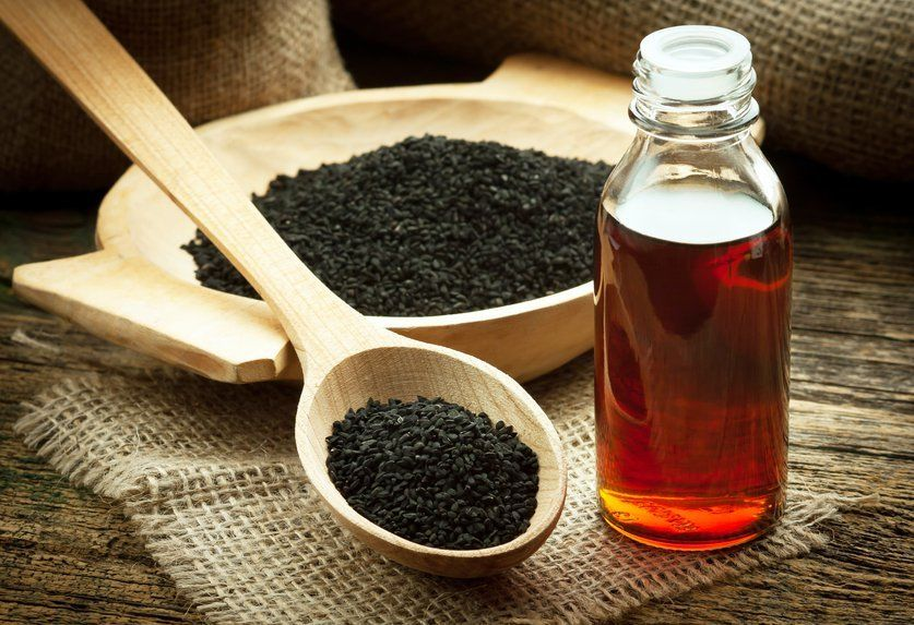 huile de graines noire