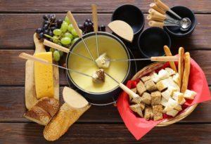 plat fondue