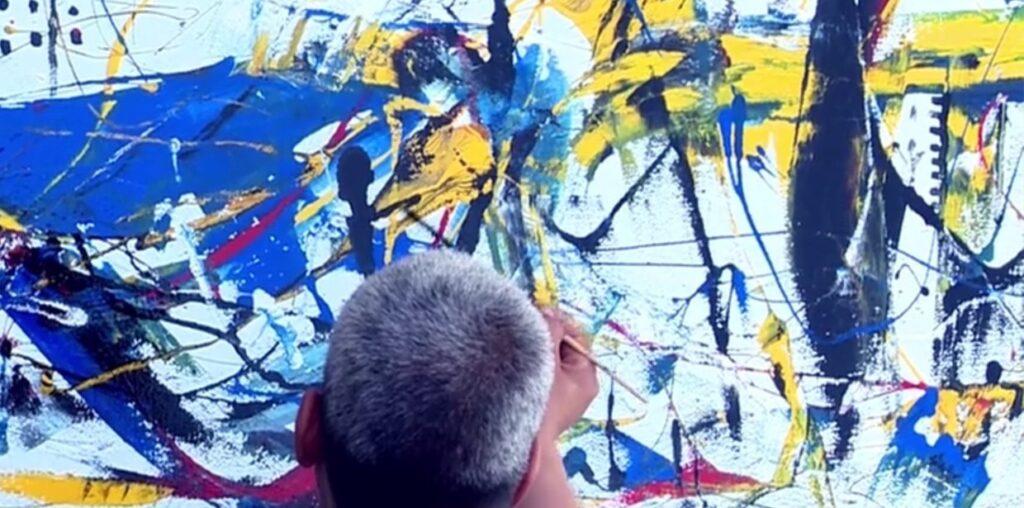 peinture de Lina Lazaar